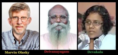Marvin olasky - Deivanayagam, Devakala, trio mismatch