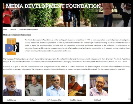 Media Development Foundation - ACJ