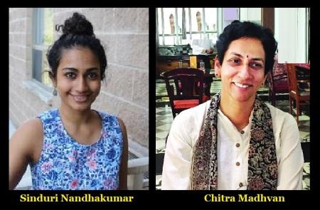 Sinduri Nandhakumar, Chitra Madhvan